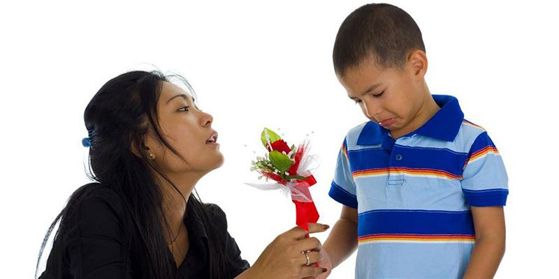Meminta Maaf Pada Anak